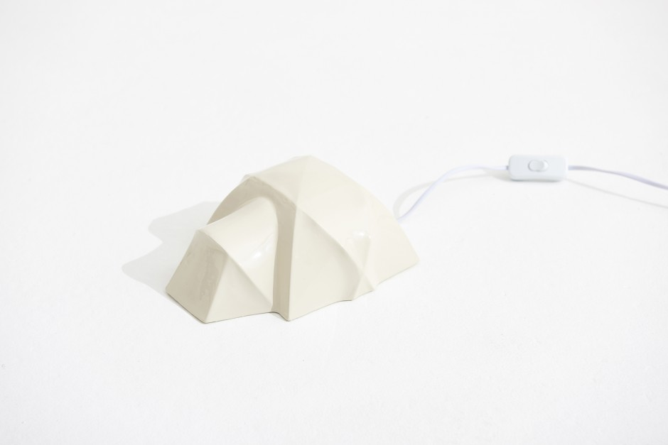 Porcelain Tent Lamp