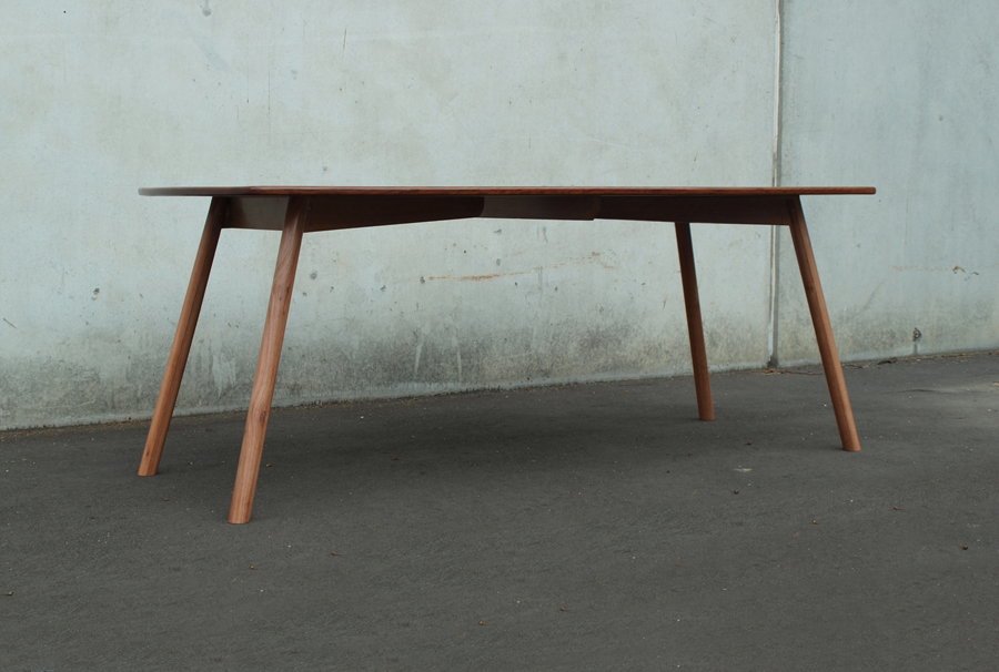 red iron bark dining table
