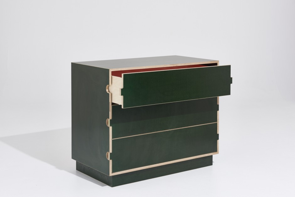 The Big Green Chest of Drawers